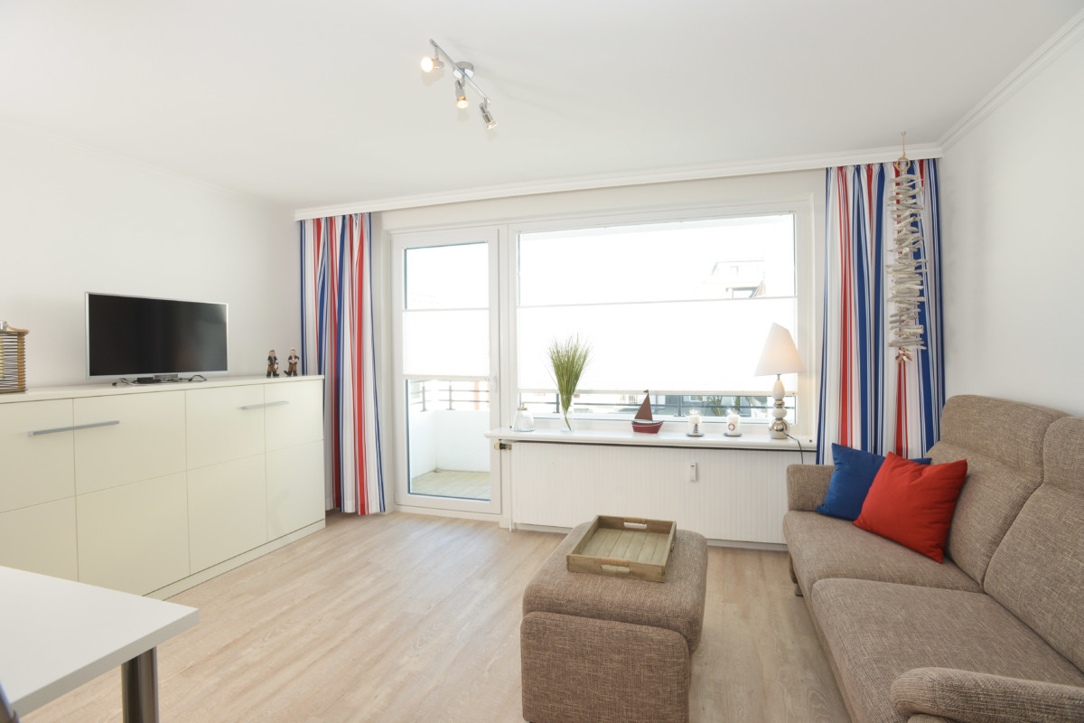 Wohnbereich Appartement Seeadler, Westerland auf Sylt